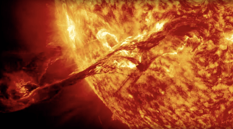 NASA-Sun-Erupts, eruption and ejection
