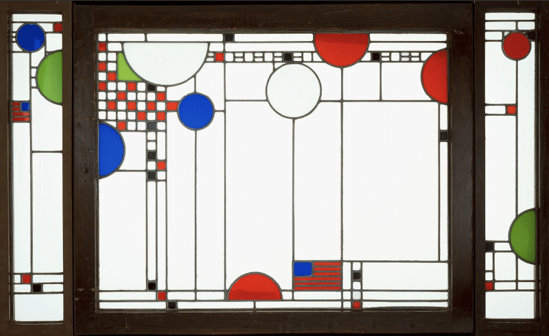Art-Windowpane-Red-White-Blue.png. Courtesy of the Art Institute of Chicago