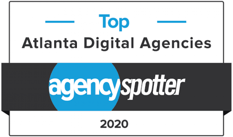 Top Digital Agency, Top Atlanta Digital Agency 2020, Top Atlanta Digital Agencies 2020 Award